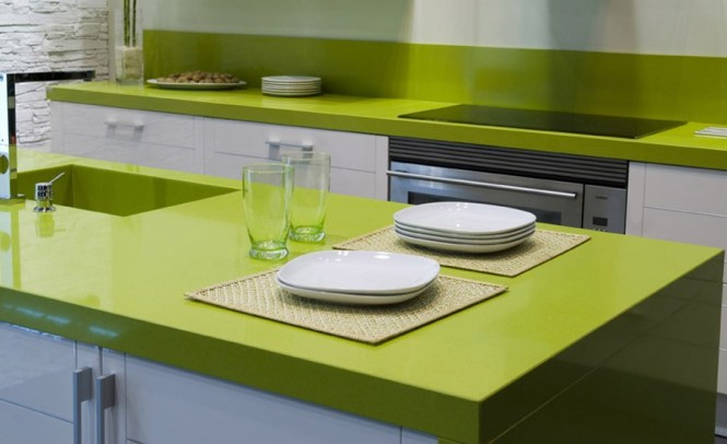 Green Quartz Countertop Colors