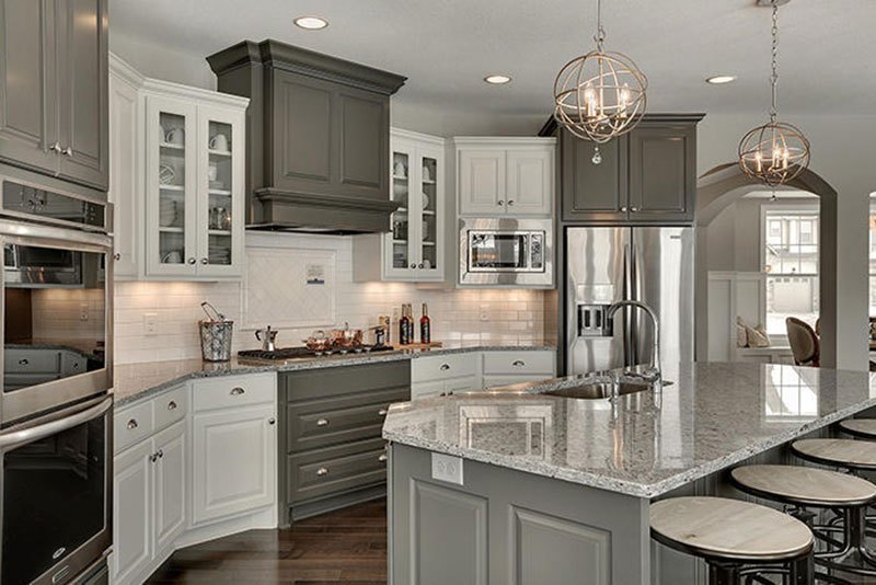 Image of: Grey Marble Countertops Images