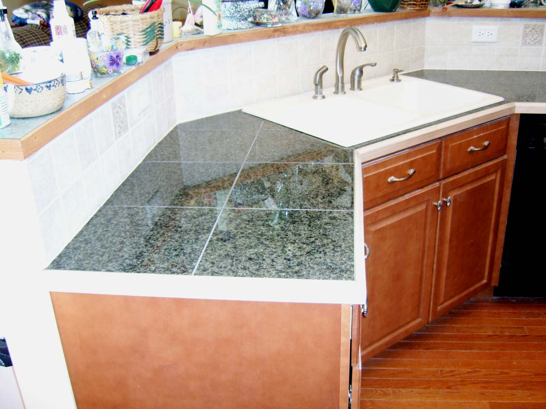 How To Install Granite Tile Countertops Without Grout Lines