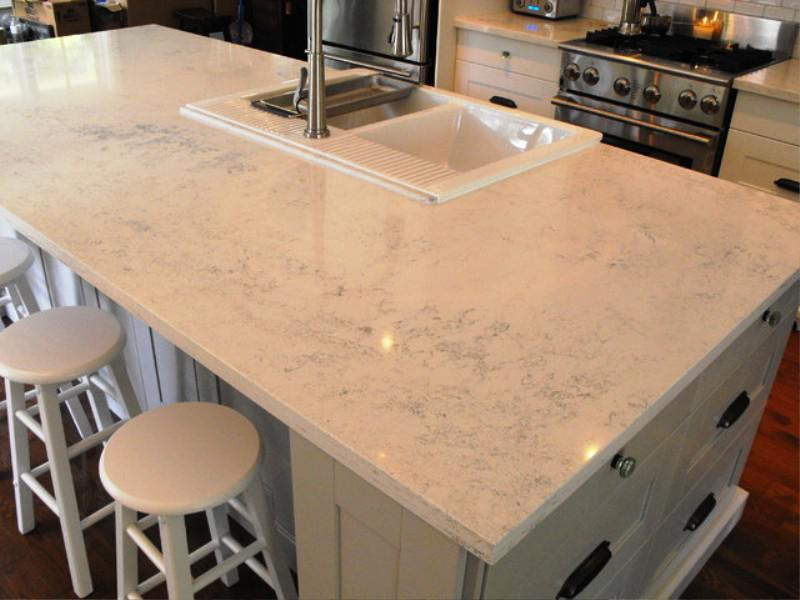Image of: How To Install Ikea Quartz Countertops