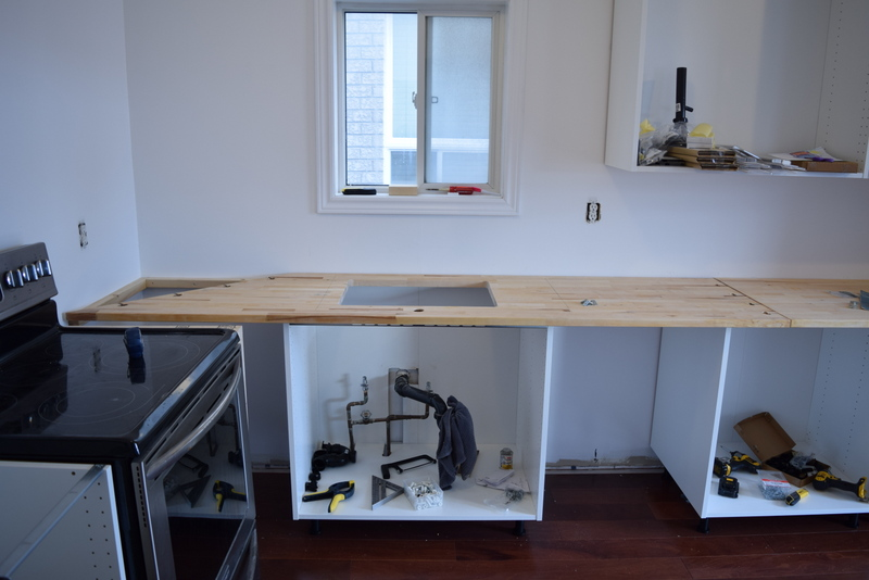 Image of: Ikea Countertop Installation