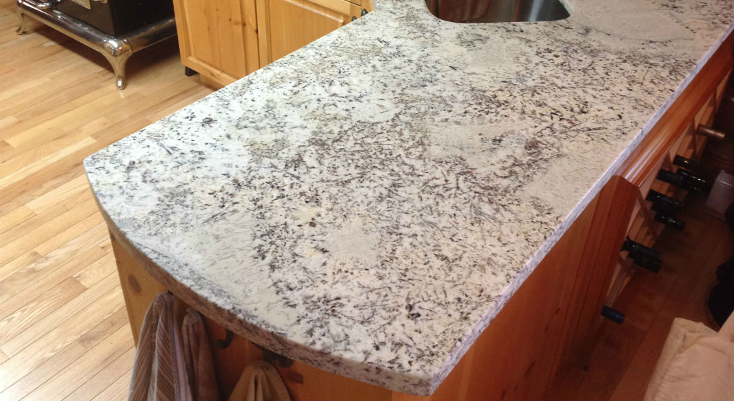 Image of: Images Of Granite Countertops Eased Edge