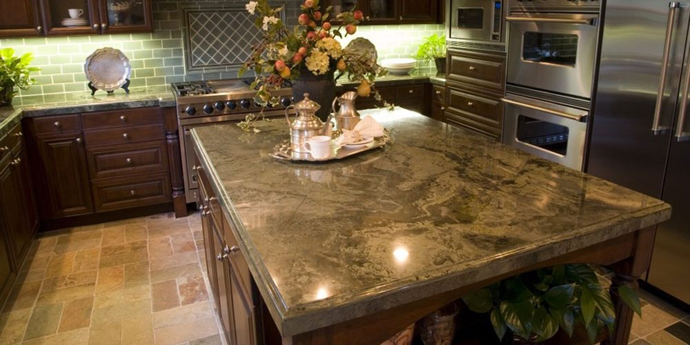 Image of: Marble And Granite Countertops Design