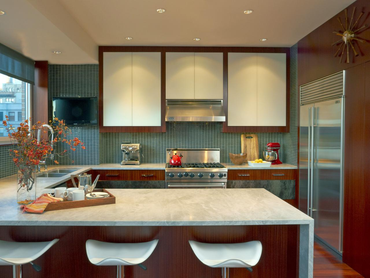 Image of: Marble Kitchen Countertops Ideas
