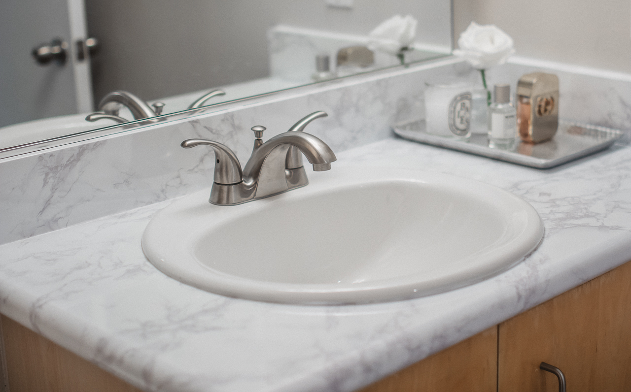 Image of: Marble Look Contact Paper For Countertops