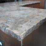 Marble Tile Countertop Epoxy Grout