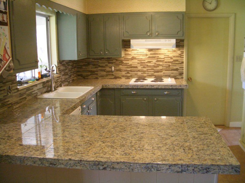 Image of: Marble Tile Countertop In My Area