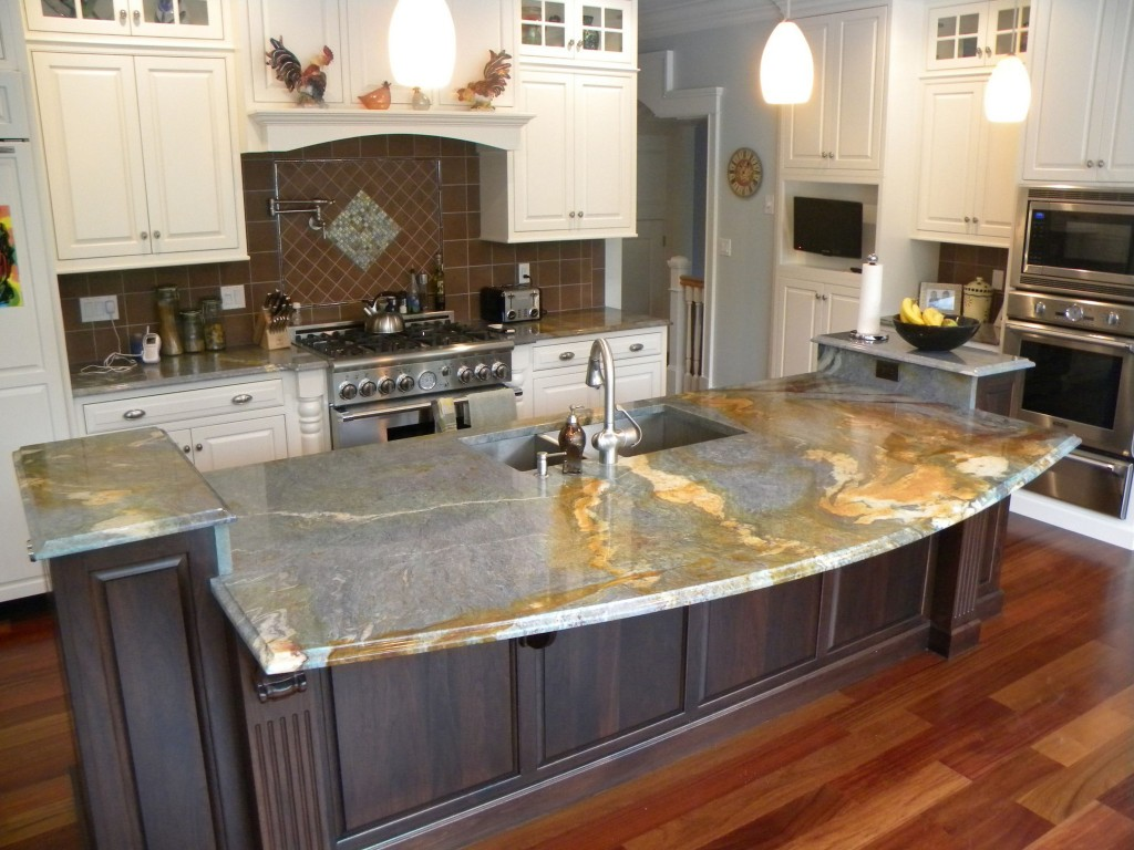 Image of: Most Popular Images Of Granite Countertops