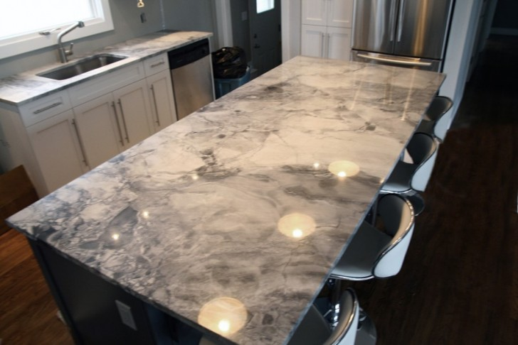 Image of: Nice Marble Look Countertops