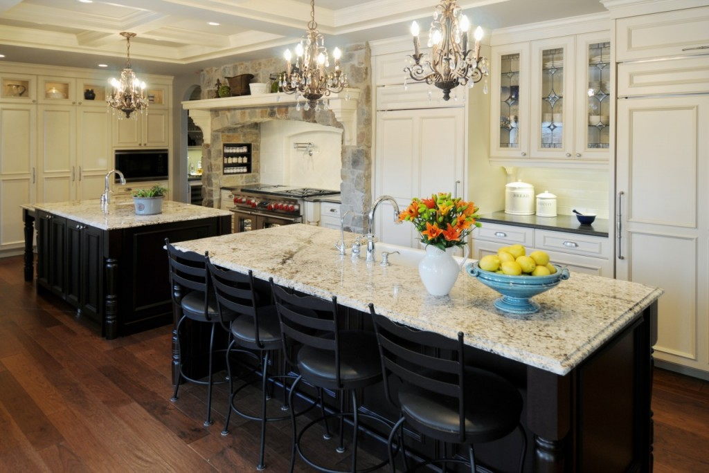 Image of: Nice White Granite Countertops