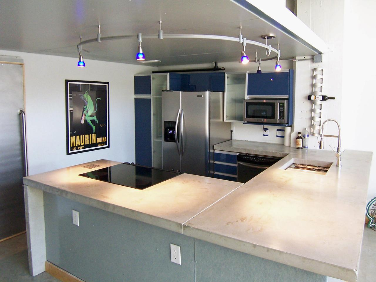 Image of: Pictures Of Concrete Countertops With Designs