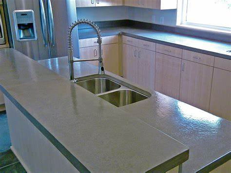 Image of: Pros And Cons For Concrete Countertops