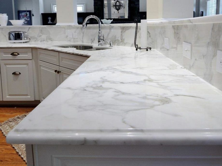 Image of: Quartz Countertops With Marble Look