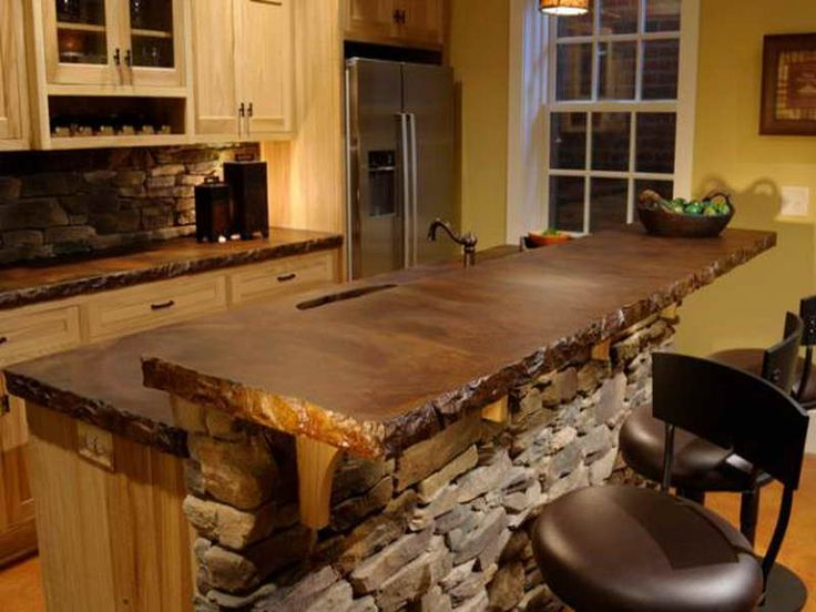 Image of: Stained Concrete Countertops Images