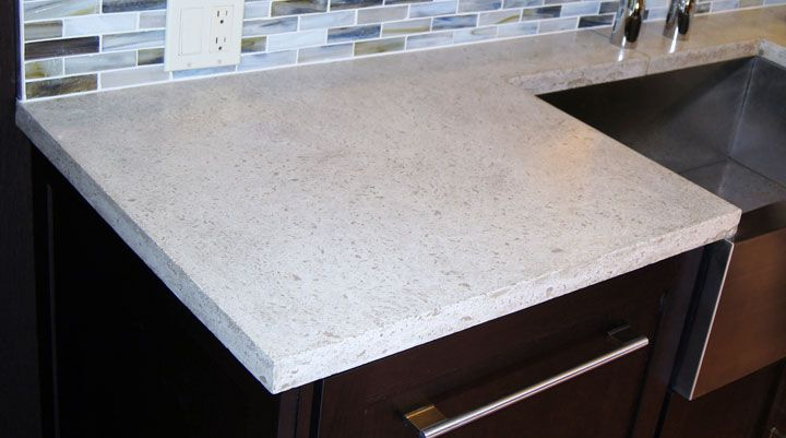 Stained Concrete Countertops White