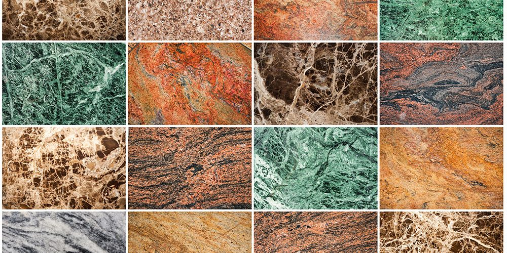 Image of: Types Of Granite Countertops Colors