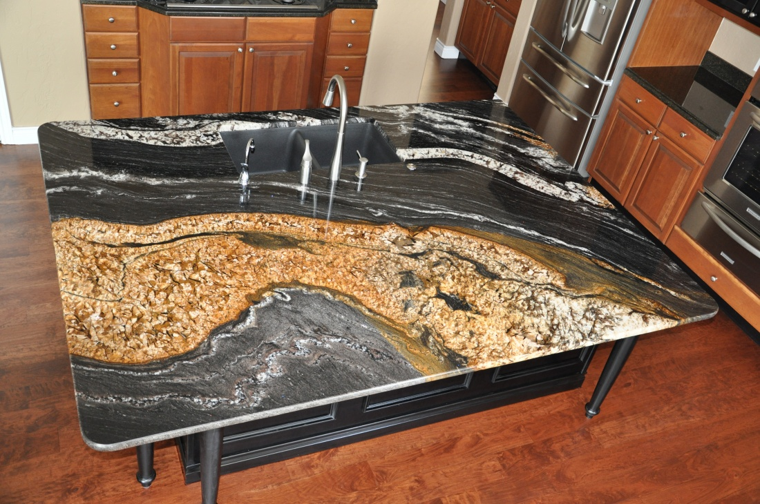 Image of: Types Of Marble Stone Countertops