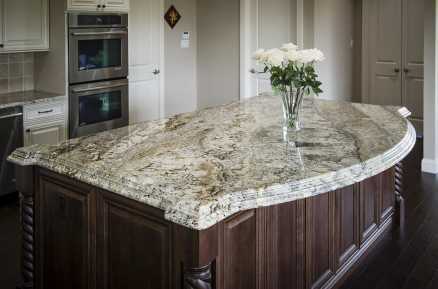 Image of: Types Of White Marble Countertops