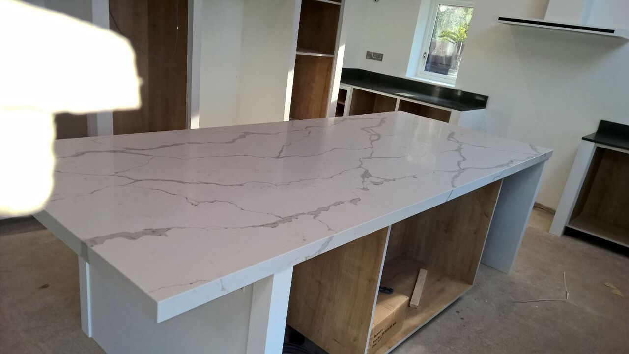 White Marble Countertops Table