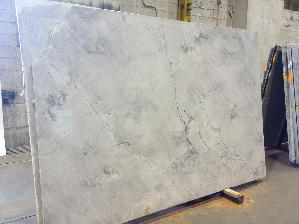 White Marble Look Quartz Countertops