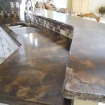 Acid Stained Concrete Countertop Colors