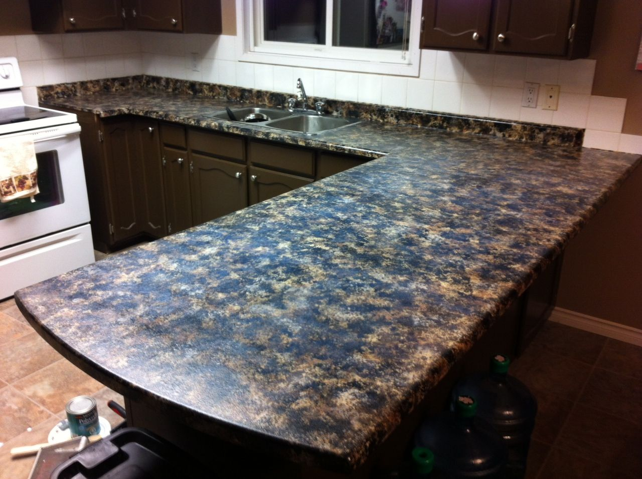 Image of: Diy Marble Countertops Paint